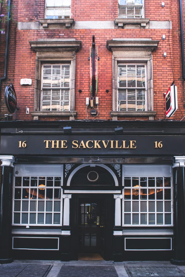 The Sackville Lounge Exterior